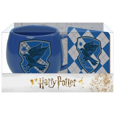 PRE-ORDER Ohapt mug with Coaster Blue Ravenclaw