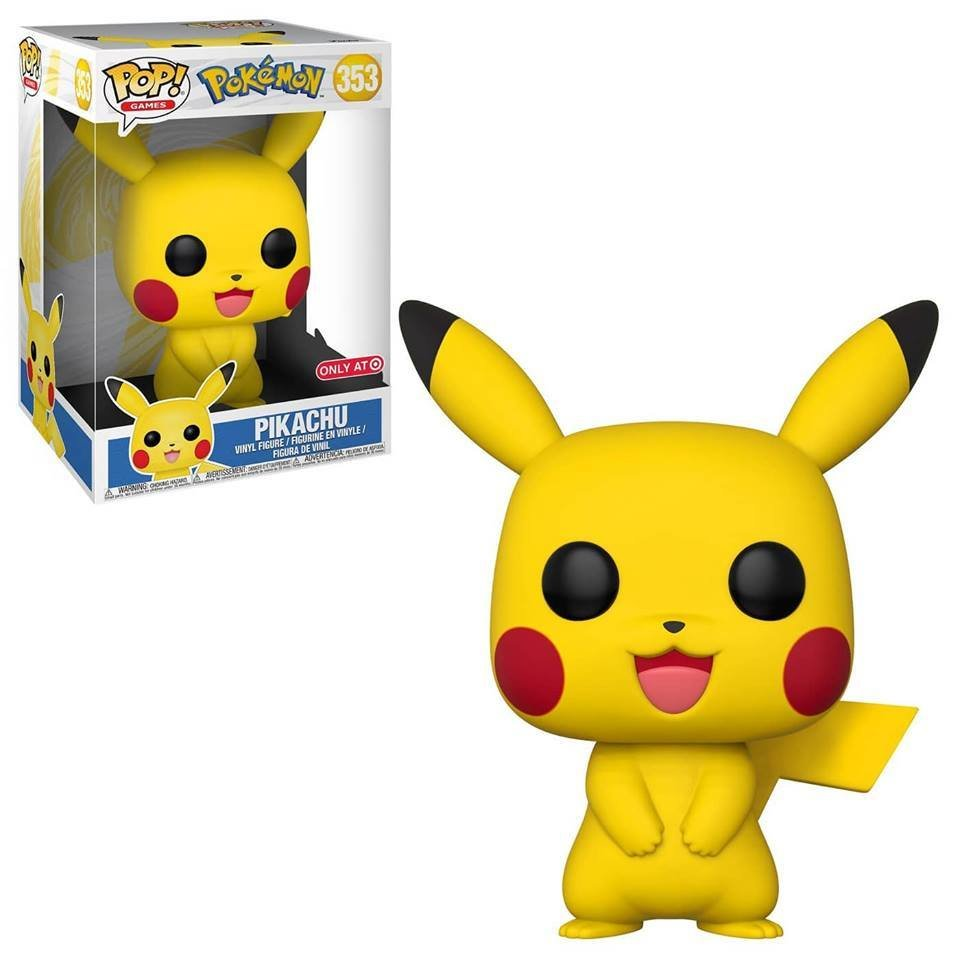"PRE-ORDER Exclusive Pokemon 10"" Pikachu POP! Vinyl Figure"