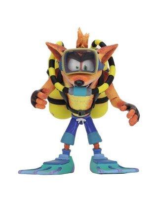 PRE-ORDER Action Figure Crash bandicoot with Scuba Gear