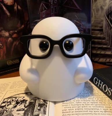 Tiny Ghost with Glasses