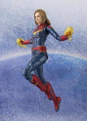 PRE-ORDER SHF Captain Marvel Carol Danvers