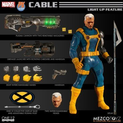 PRE-ORDER One : 12 Collective Cable X-men Ver PX Exclusive