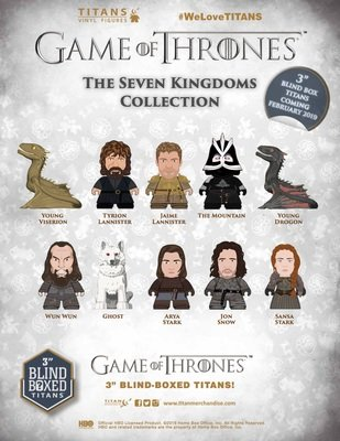 PRE-ORDER Game Of Thrones TITANS: The