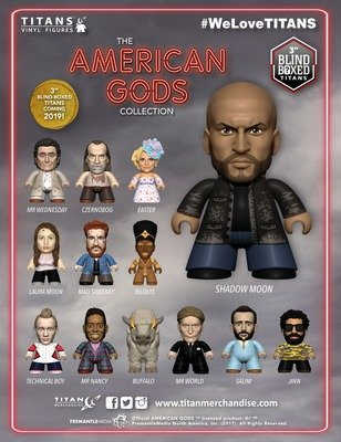 PRE-ORDER American Gods TITANS Collection (3