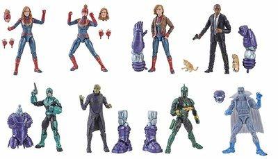PRE-ORDER Marvel Legends Series 6 Capt Marvel BAF Kree Sentry