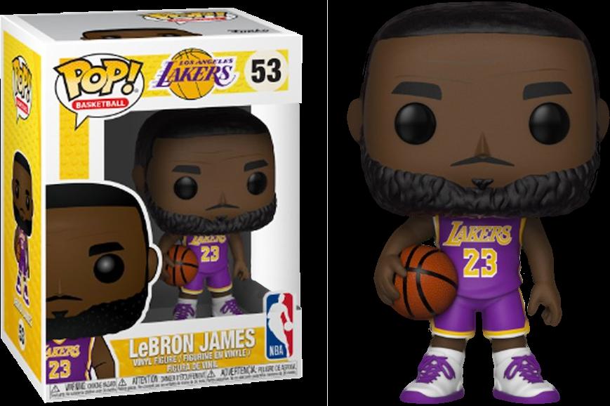 best sneakers db5cb 4cc25 PRE-ORDER Exclusive NBA Basketball - LeBron James L.A. Lakers Purple  Uniform Pop! Vinyl Figure (2nd batch)
