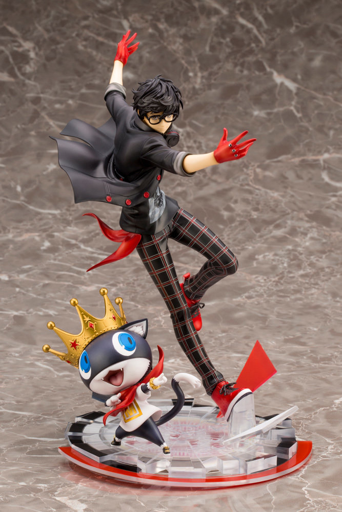 PRE-ORDER Persona 5 Hero & Morgana ARTFX J Statue