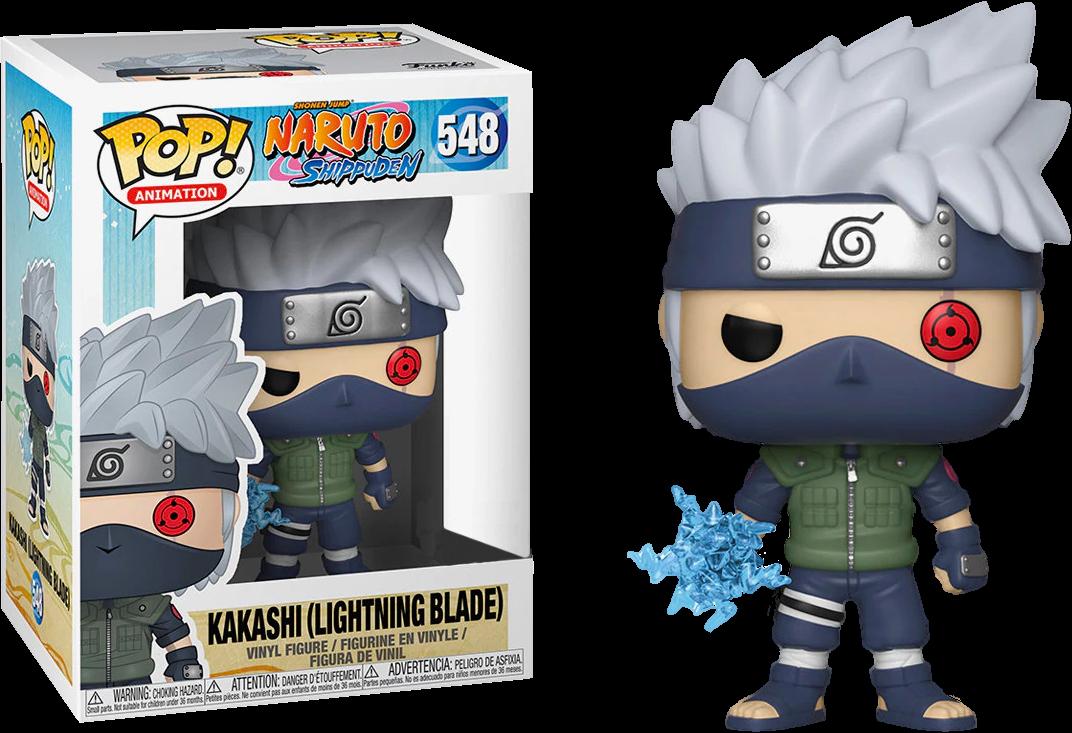 PRE-ORDER Exclusive Naruto: Shipuden - Kakashi with Lightning Blade Pop! Vinyl Figure