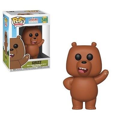 We Bare Bears Grizz Pop! Vinyl Figure