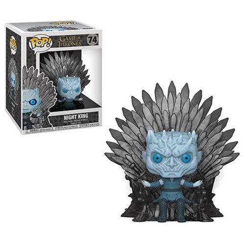 PRE-ORDER Game of Thrones Night King Sitting on Throne Deluxe Pop! Vinyl Figure