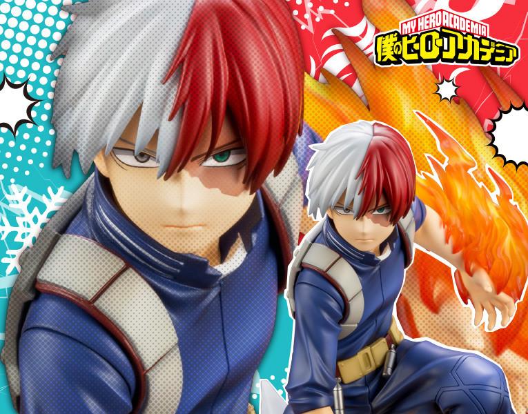 PRE-ORDER My Hero Academia - Shoto Todoroki ARTFX J