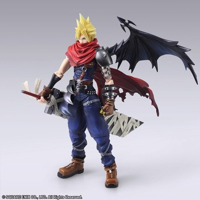 PRE-ORDER Final Fantasy Bring Arts Cloud Strife Another Form Variant