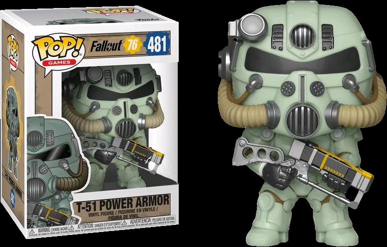 PRE-ORDER Exclusive Fallout 76 - T-51 Power Armor Green Pop! Vinyl Figure
