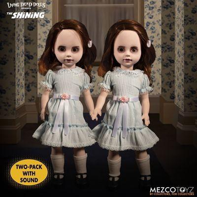 PRE-ORDER Living Dead Dolls The Shining: Talking Grady Twins