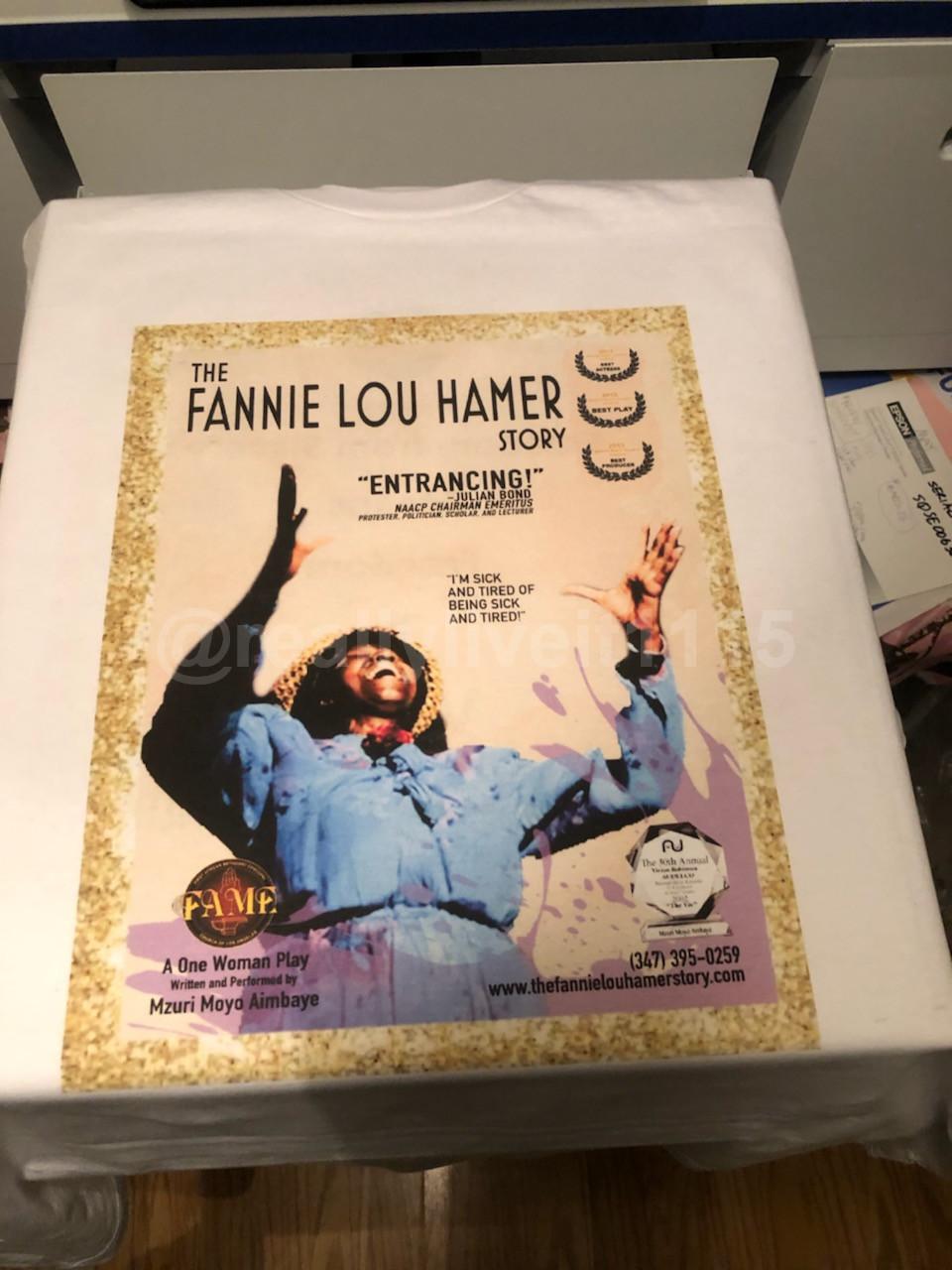 Fannie Lou Hamer Story T-Shirt