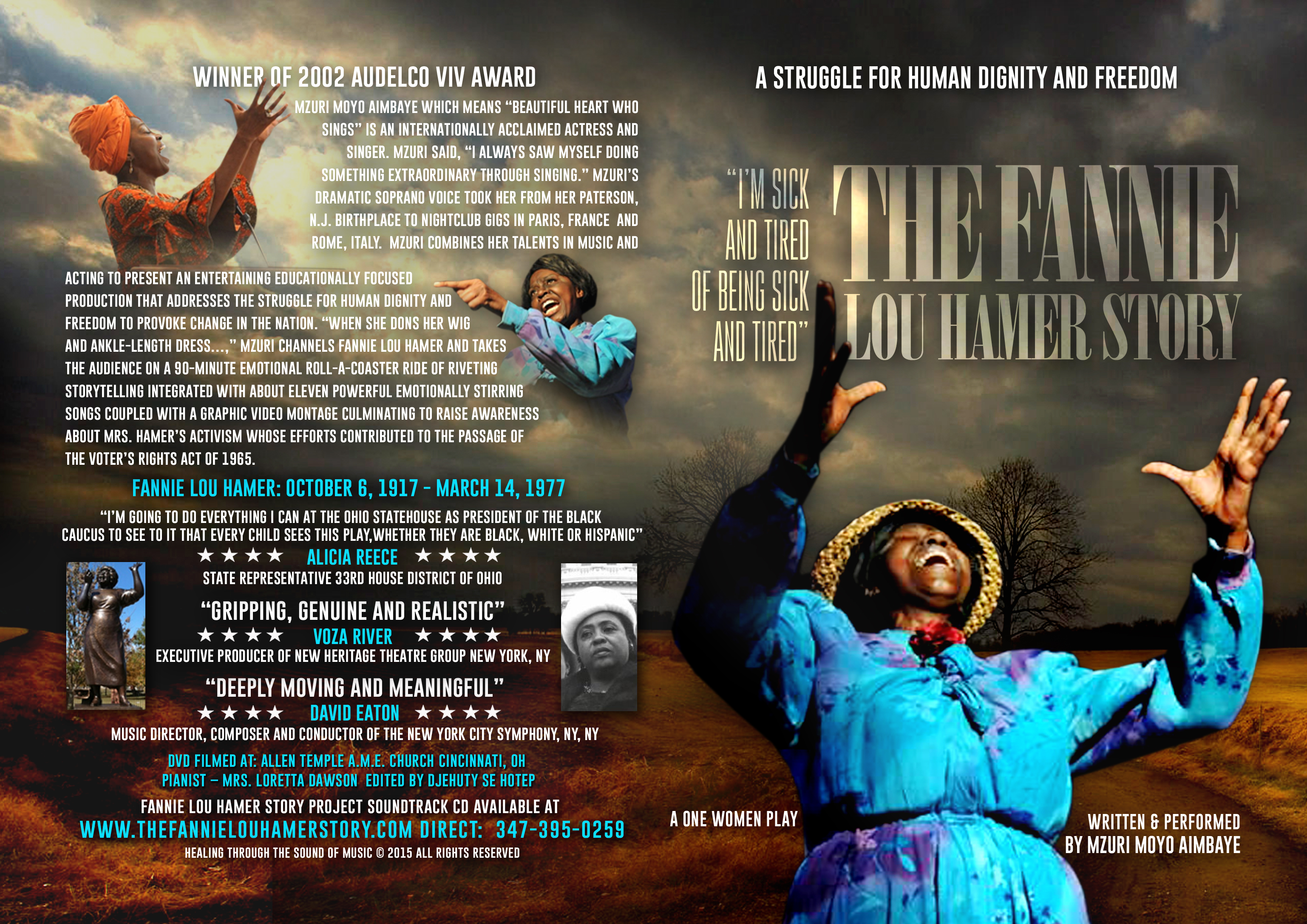 The Fannie Lou Hamer Story DVD (New Release) 02000
