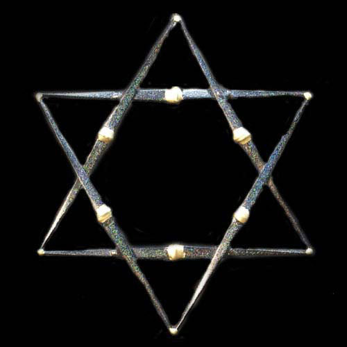 Star of David- 1 Layer