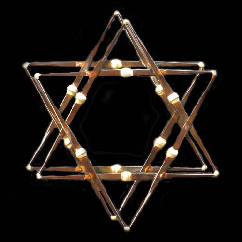 Star of David 2 Layer