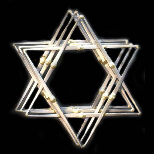 Star of David 3 Layer