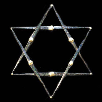 Star of David- 1 Layer