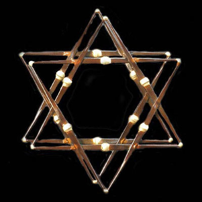 Star of David 2 Layer