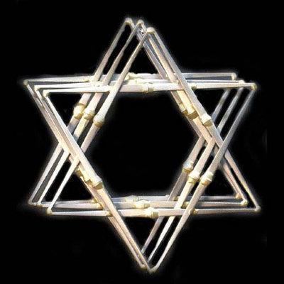 Star of David 3 Layer