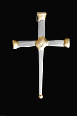 One Nail Cross