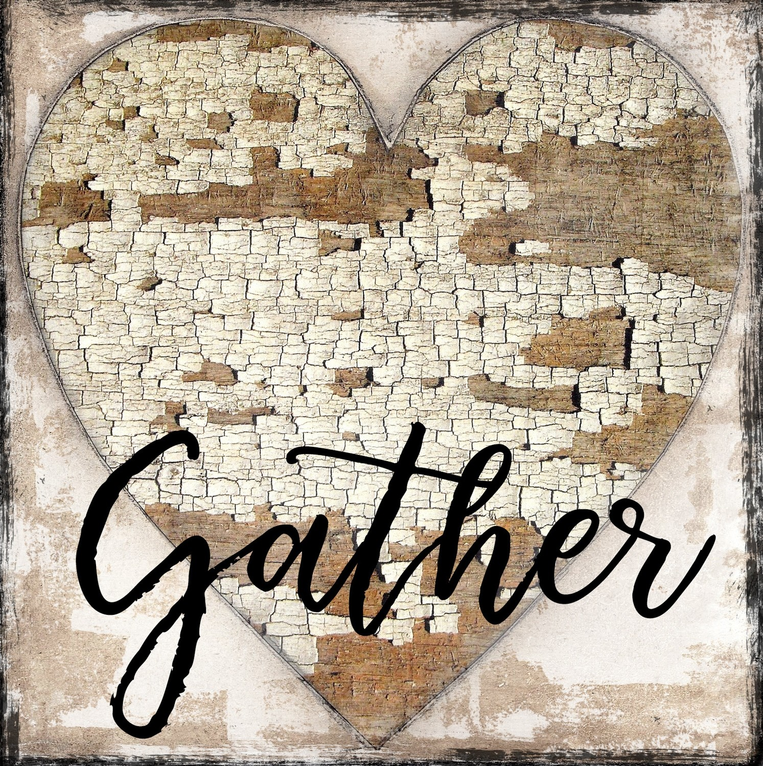 """Gather"" heart"