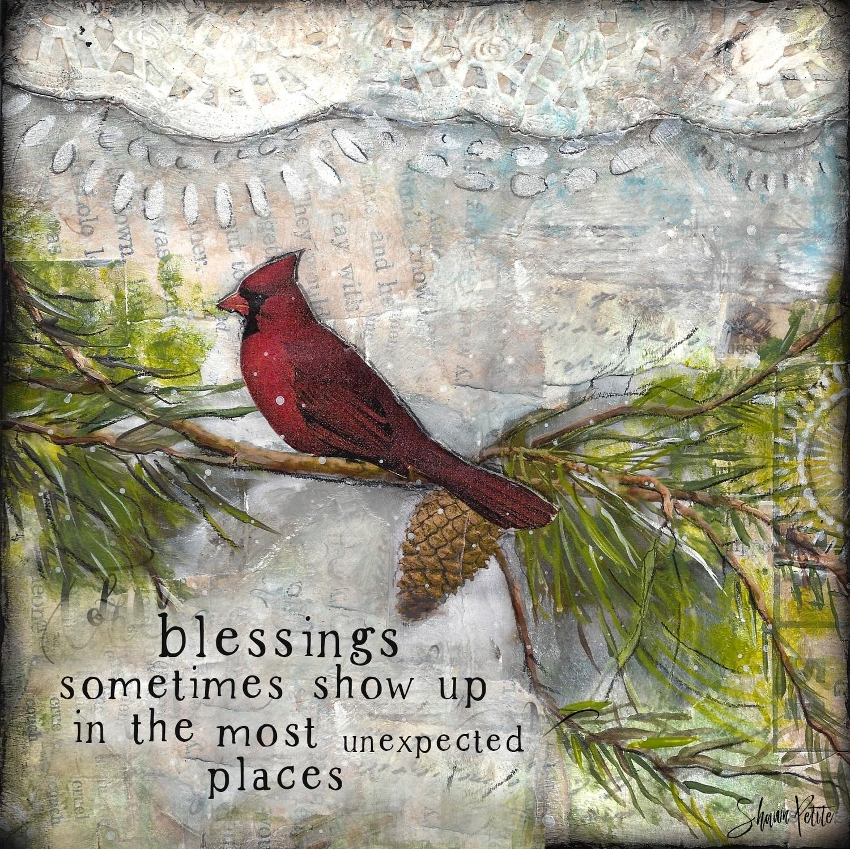 """""""Blessings"""" cardinal"""