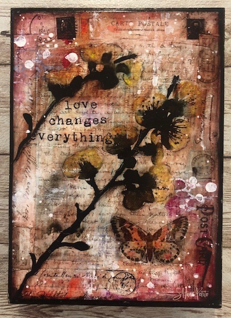 """Love Changes"" 5x7 Clearance"
