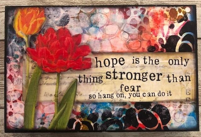 """""""Hope"""" 6x4 Clearance"""