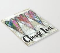 "Notebook "" Choose Love"""