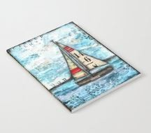 "Notebook ""Discovery Sail Boat"""