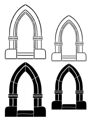Arch 3 Point Stencil