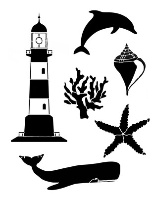 Take me to the Water 2 Stencil