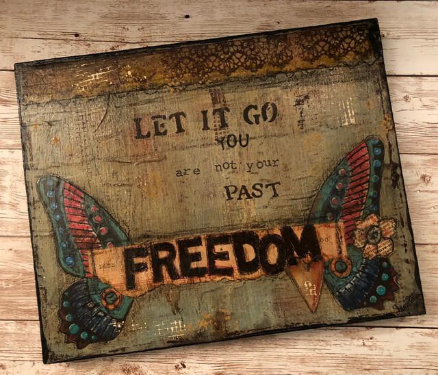 """Freedom"" Clearance 8x10 Original"