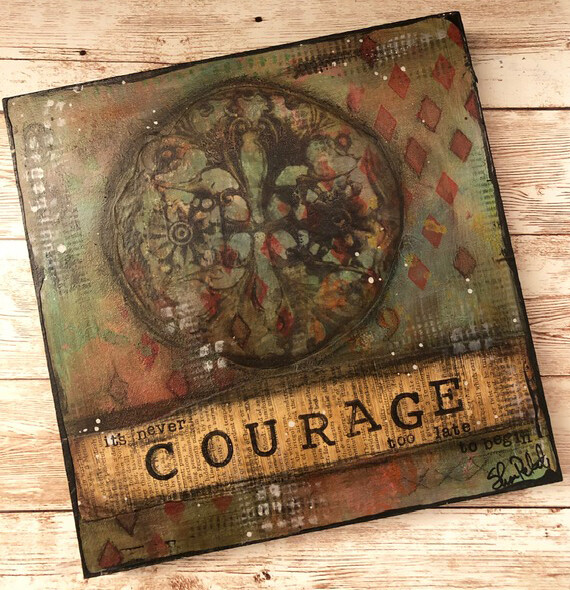 """Courage"" 6x6 Clearance Original"