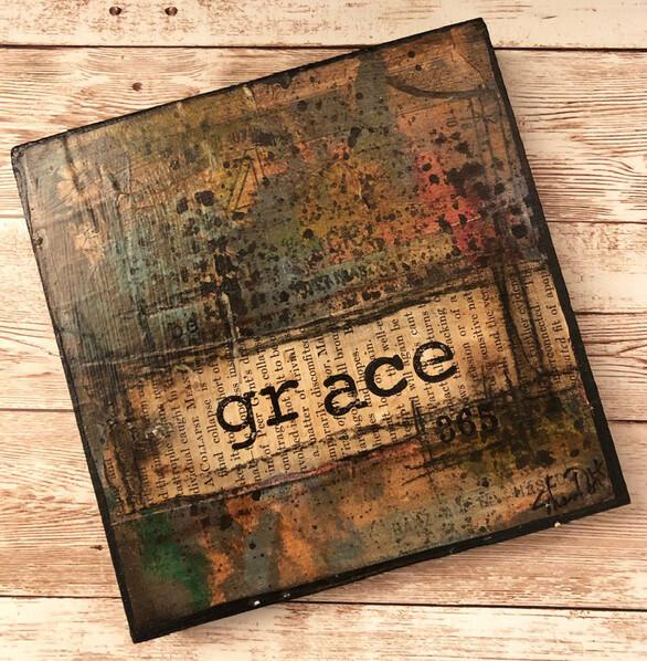 """Grace"" 6x6 Clearance Original"
