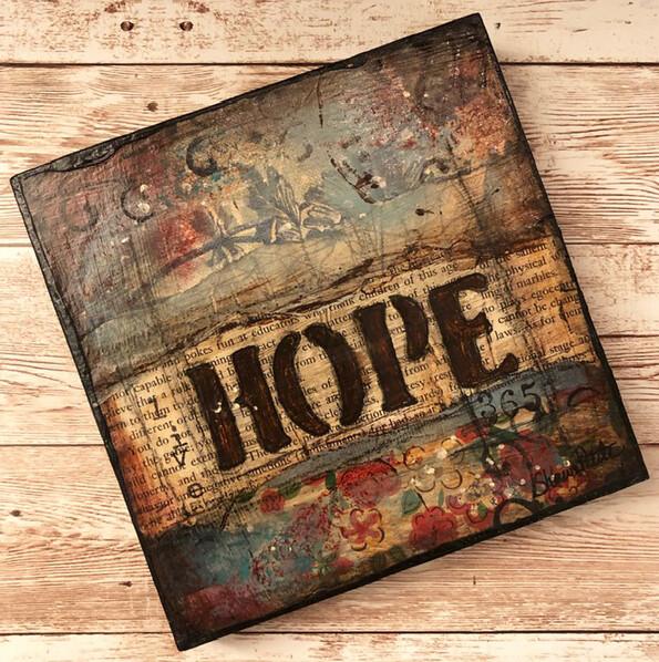 """Hope"" 6x6 Clearance Original"