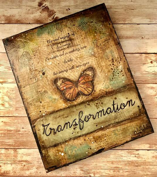 """Transformation"" Clearance 8x10 Original"