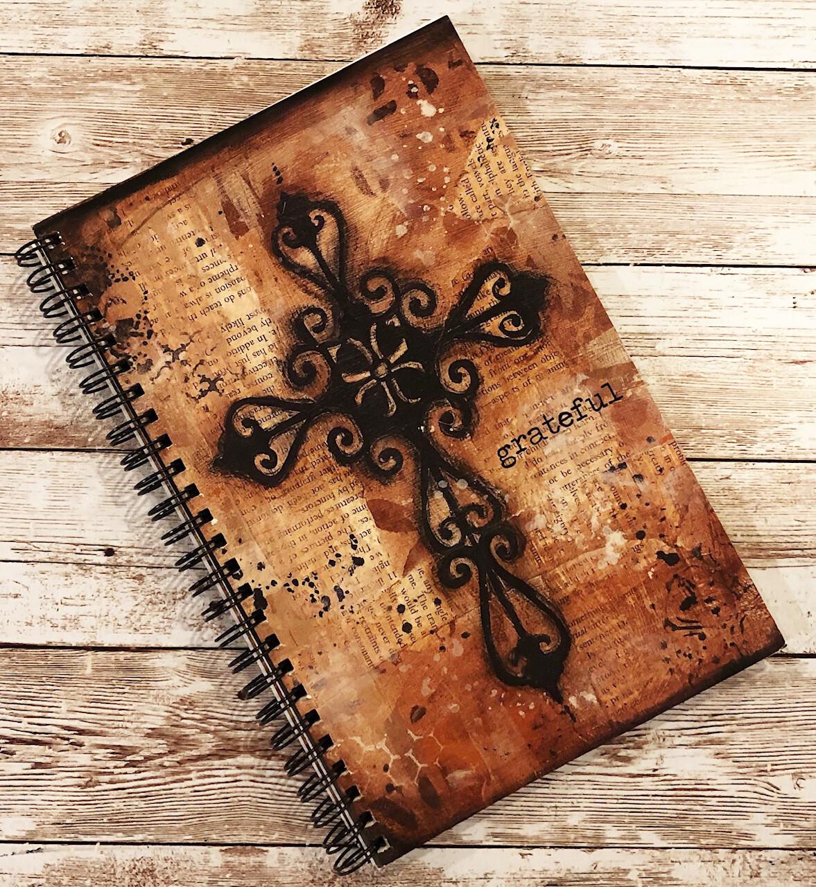 "Notebook ""Grateful"" cross clearance"