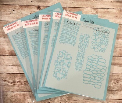 Doodle Minis not masks stencil clearance