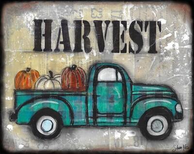 Harvest truck