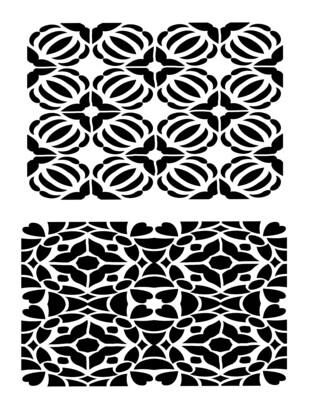 Mosaic 2 stencil