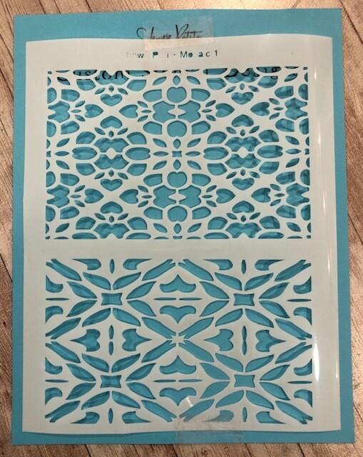 Mosaic 1  stencil clearance
