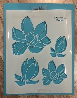 Magnolia stencil clearance