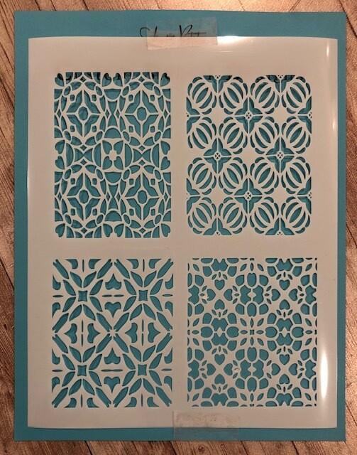 Mosaic Mini's stencil clearance