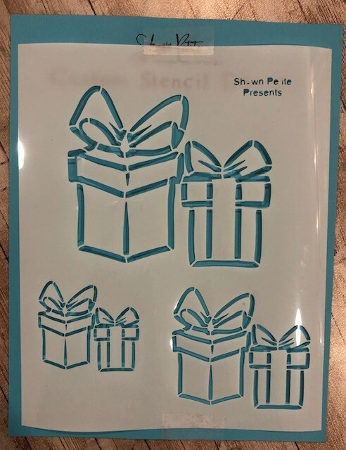 Presents stencil clearance