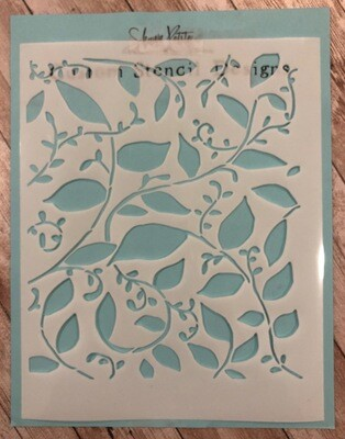 Vines stencil clearance