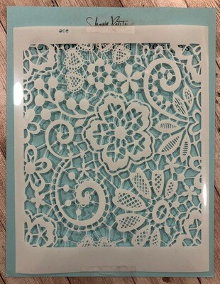 Lace stencil clearance